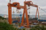 Судостроительный завод HYUNDAI SAMHO - подготовка