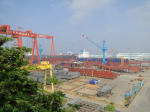 Судостроительный завод HYUNDAI SAMHO - cборочная п