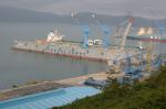 Судостроительный завод HYUNDAI SAMHO - плавдок