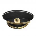 Фуражка Морская парадная черная