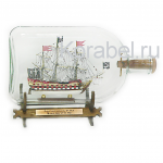 Пиратский корабль XVIII век