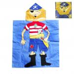 Полотенце-накидка детское Пират